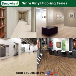 Dongwha Korean Vinyl Flooring 3mm (Glue) Concrete Tile Series