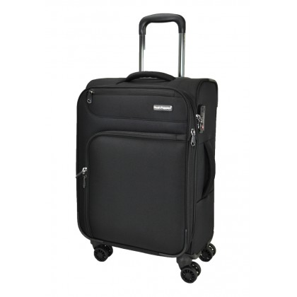 Hush Puppies 693141 25-inch Softcase Luggage with Double-Coil Security Zipper System