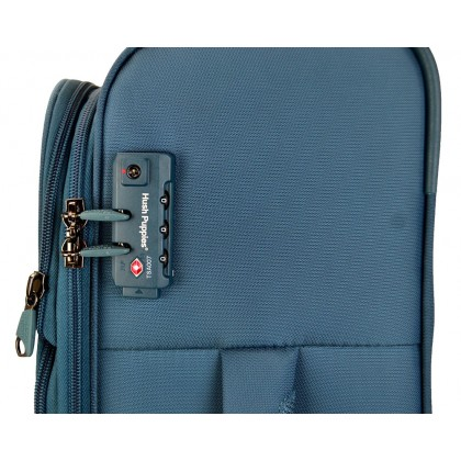 Hush Puppies 693141 29-inch Softcase Luggage with Double-Coil Security Zipper System