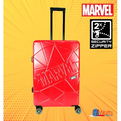Marvel Avengers VAA1979 24-inch PC-ABS Expendable Hardcase Luggage with Double-Coil Security Zipper