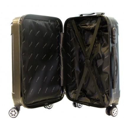 TravelTime 3-in-1 6112 Hardcase ABS Spinner Wheels Luggage Set