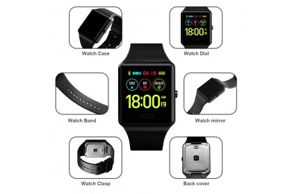 SKMEI SKS526 Smart Watch Multifunctional 3 Bar Waterproof Sport Watch