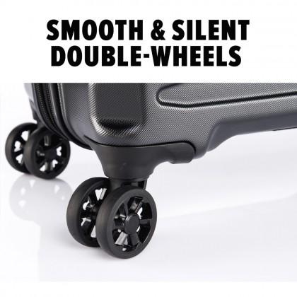Verage Crust Unbreakable Expandable 29-inch Double-Zipper Hardcase Luggage GM17106W