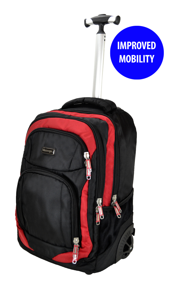 70dfec6030b Slazenger SZ3352T Rolling Backpack with Trolley with Improved ...